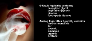 The Pros and Cons of e-smoking